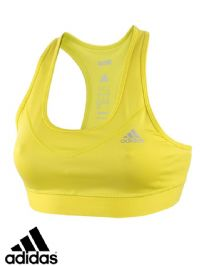 Women's Adidas 'TechFit' Bra Top (AY3105) x5 (Option 2): £7.50